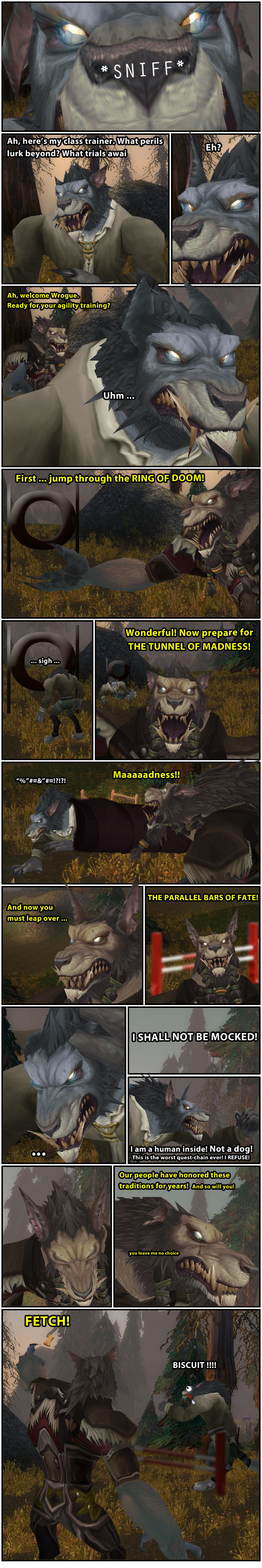 Life of a Worgen