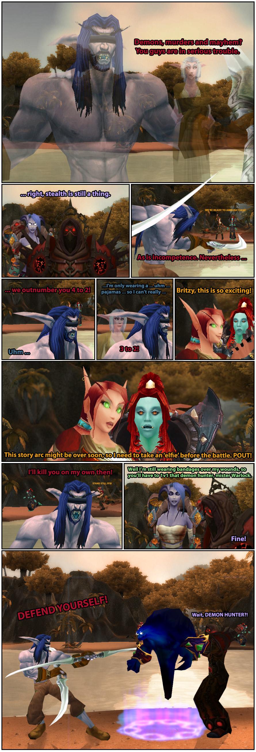 Elfies are a strange phenomenon.